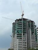 Bouw nieuwe concrete huizen Stock Foto's