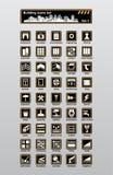 Bouw pictogrammen Royalty-vrije Stock Foto's