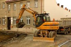Bouw Polen in Royalty-vrije Stock Foto