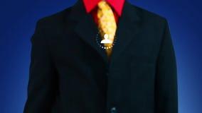 Bouw sociaal netwerk stock video