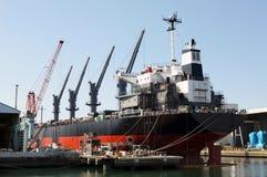 Bouw tanker Stock Fotografie
