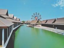 Bouw, toeristische attractie, mooie mening, rust, oriëntatiepunt stock fotografie