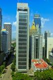 Bouw van de Beurs van Singapore de Algemene Stock Foto's