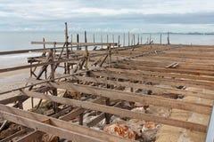 Bouw van de bouw. Stock Foto