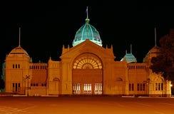Bouw van de Tentoonstelling van Melbourne de Koninklijke Stock Afbeeldingen