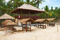 Bouw van een nieuw strand Stock Fotografie