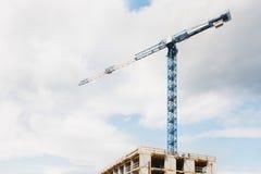 Bouw van gebouwen Stock Foto's