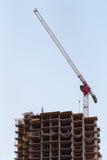 Bouw van gebouwen Stock Foto