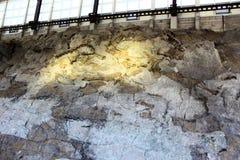 Bouw van het dinosaurus de Nationale Monument stock afbeelding