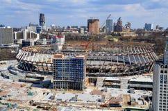 Bouw van het stadion Royalty-vrije Stock Foto