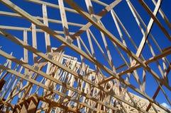 Bouw van Nieuw Huis Royalty-vrije Stock Foto