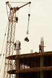 Bouw van nieuwe gebouwen. stock foto's