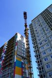 Bouw van woningbouw Royalty-vrije Stock Foto