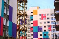 Bouw van woningbouw Royalty-vrije Stock Afbeelding