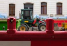 Bouwbarrière Stock Foto's