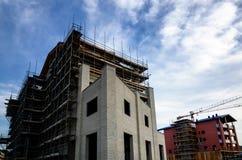 Bouwbouwwerkzaamheidwerf Stock Afbeelding