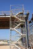 Bouwde een nieuwe brug Royalty-vrije Stock Afbeelding