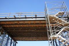 Bouwde een nieuwe brug Royalty-vrije Stock Foto's
