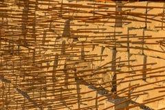 Bouwmateriaal voor bouw en structuurachtergrond Royalty-vrije Stock Afbeeldingen