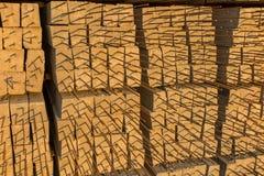 Bouwmateriaal voor bouw en structuurachtergrond Stock Foto's