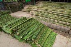 Bouwmaterialen in Myanmar Stock Foto