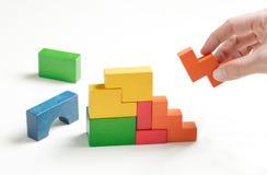 bouwstenen Stock Foto's