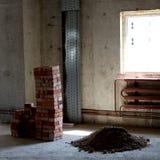 Bouwterrein Stock Foto