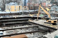 Bouwterrein Stock Foto's