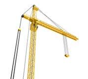 Bouwtoren Crane Isolated Stock Foto