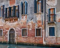 Bouwvoorgevel, Venetië, Italië Royalty-vrije Stock Afbeeldingen