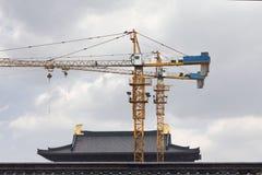 Bouwwerf in China Stock Afbeeldingen