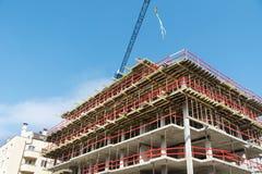 Steiger op een bouwterrein stock afbeeldingen afbeelding 31531034 - Moderne huiszaal ...