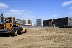 Bouwwerf in Peking. Stock Afbeeldingen