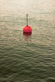 Bouy озером Стоковое фото RF