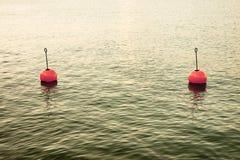Bouy озером Стоковое Изображение