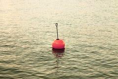 Bouy озером Стоковые Изображения