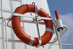 Bouy. A bouy  on a ship Stock Photo