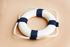 Bouy Floatation Assistance Rescue Rope Ring Safe Concept. Rescue Float Bouy Assistance Concept Royalty Free Stock Image