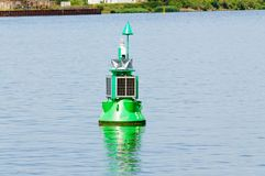 Bouy. Marking the channel in which ships must stay Royalty Free Stock Photography