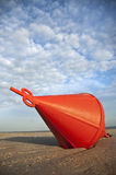 Bouy in Sand Royalty Free Stock Photography