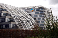 Bouygues Telecom-Bedrijf Stock Foto