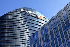 Bouygues Telecom firma Obrazy Royalty Free