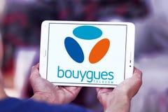 Bouygues Telecom-Logo Lizenzfreies Stockfoto