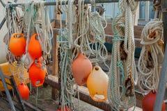 Bouys и веревочки Стоковые Фотографии RF
