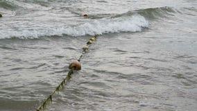 Bouys arkana w morzu zdjęcie wideo