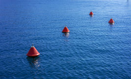 Bouys, Marina of Kas, Turkey. Bouys at new Marina of Kas, Turkey Royalty Free Stock Photography