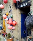 Bouys in staithes Stock Afbeelding