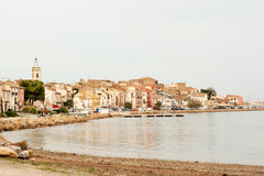 Bouzigues village Royalty Free Stock Photography