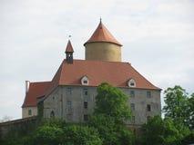 Bouzov历史的城堡 图库摄影