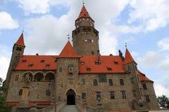 bouzov城堡捷克共和国 免版税库存图片